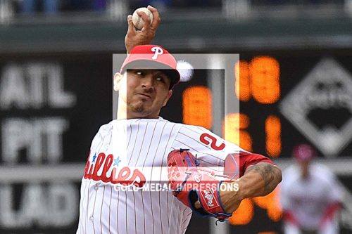 Philadelphia Phillies starting pitcher Vince Velasquez