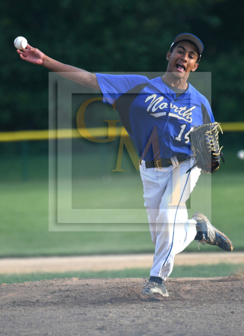 WWP North starting pitcher Kevin D Cruz