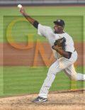 New York Yankees MICHAEL PINEDA strikes out Sox's Josh Rutledge