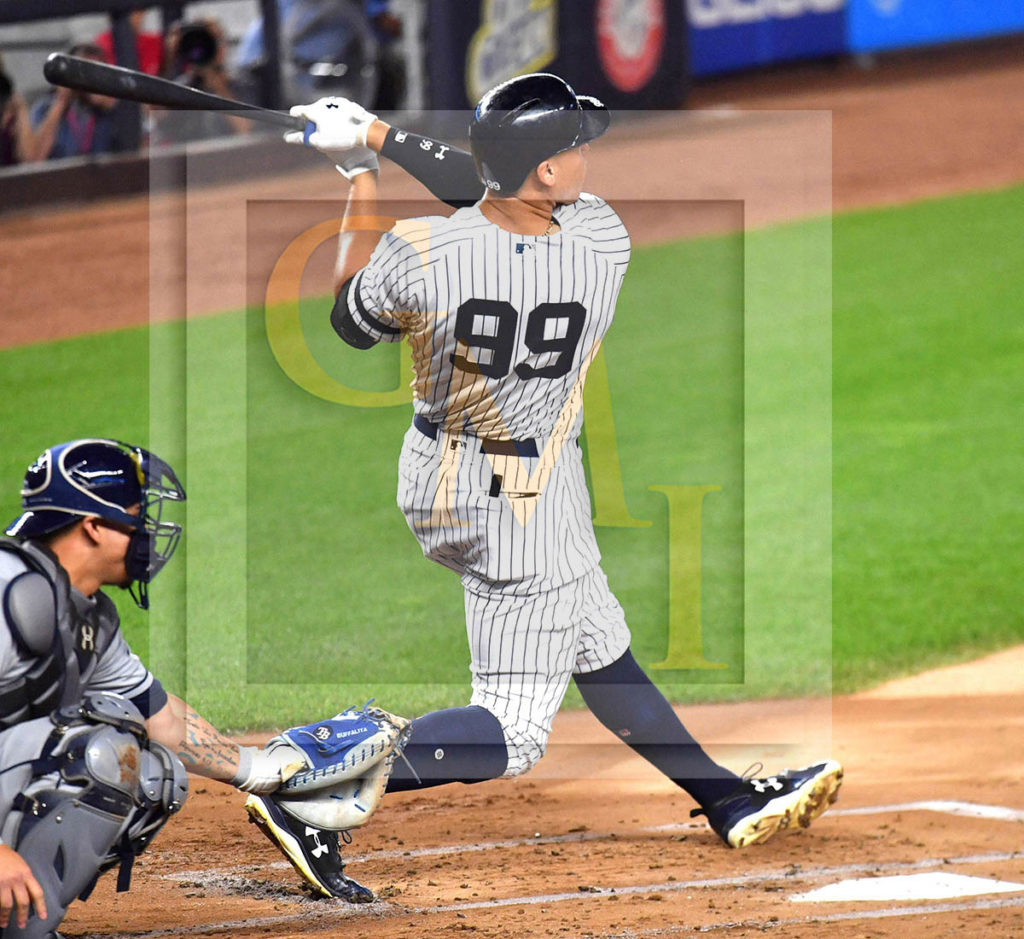 Yankees Rookie Sensation AARON JUDGE Hits His Record 51st
