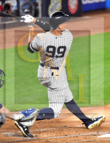 Yankees rookie sensation AARON JUDGE hits his record 51st home run