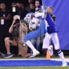 Detroit Lions WR Marvin Jones Jr receives a 27 yard TD pass