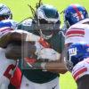 Eagles running back LeGarrette Blount runs for 1 yard touchdown