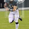Eagles quarterback CARSON WENTZ runs for a first down