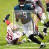 Philadelphia Eagles running back, Le Garrette Blount scores a touchdown
