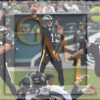 Eagles quarterback CARSON WENTZ throws a pass