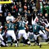 Philadelphia Eagles kicker JAKE ELLIOT kicks 21 yard field goal