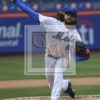 New York Mets relief pitcher Robert Gsellman strikes out Paul DeJong