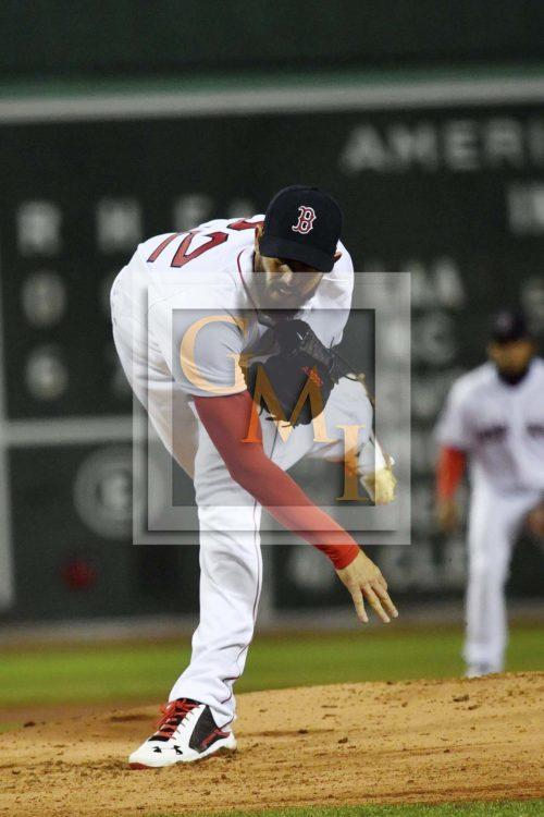 Red Sox Rick Porcello strikes out Yankees Brett Gardner