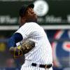 Yankees closer Aroldis Chapman retires L.A. Angels catcher Martin Maldonado