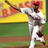 Phillies closer Searanthony Dominguez strikes out Yankees Gleyber Torres