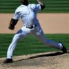 Yankees closer Aroldis Chapman strikes out Seattle Mariners outfielder Dee Gordon