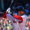 Boston Red Sox outfielder J.D. Martinez MLB Home Run Leader