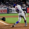 New York Mets Brandon Nimmo hits a home run