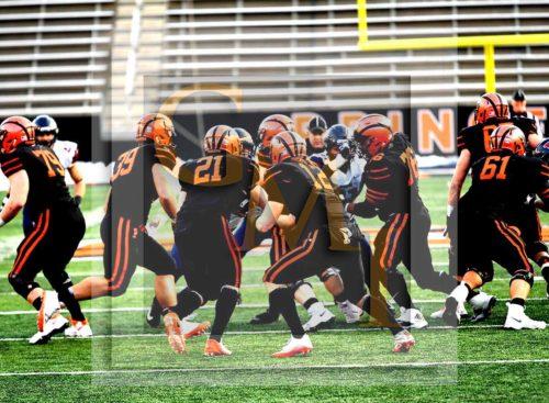 Princeton offense at work