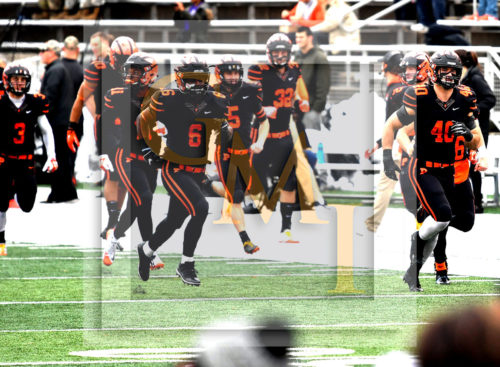 PRINCETON TIGERS ENTER THE FIELD