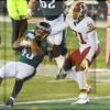 Eagles running back Darren Sproles scores on a 12 yard run