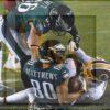 Eagles wide receiver Jordan Matthews receives a 4 yard touchdown pass