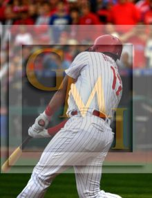 Philadelphia Phillies first baseman Rhys Hoskins hits his first grand slam home run!