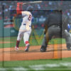 Boston Red Sox right fielder Mookie Betts strikes out in the bottom of the 9th