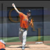 Houston Astros Ace Justin Verlander throws a strike