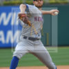 New York Mets starting pitcher Steven Matz throws a strike
