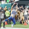 Lions wide receiver Danny Amendola makes a critical catch