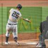 New York Yankees first baseman DJ LeMahieu homers