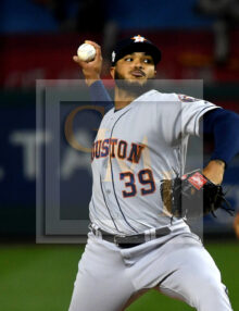 Houston Astros relief pitcher Josh James