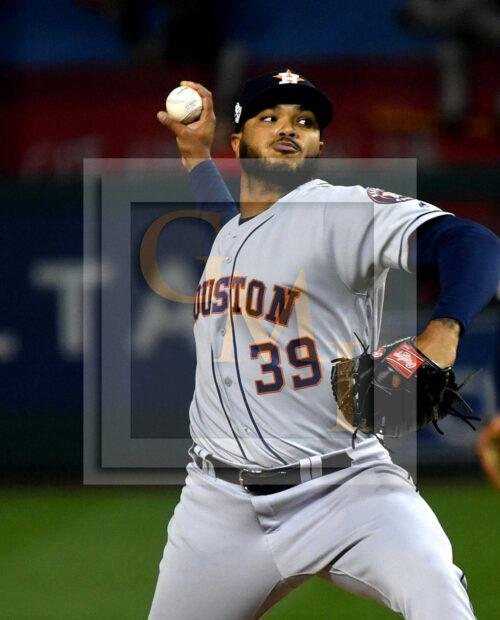 Houston Astros relief pitcher Josh James