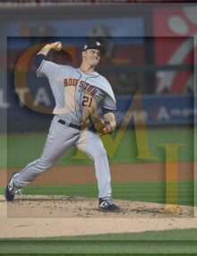 Astros starting pitcher Zack Greinke