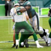 Eagles Brandon Graham sacks New York Jets quarterback Luke Falk