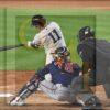 New York Yankees outfielder Brett Gardner homers