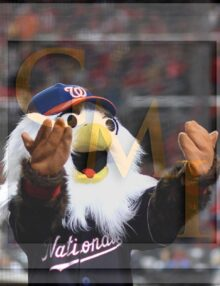 Washington Nationals mascot Screech