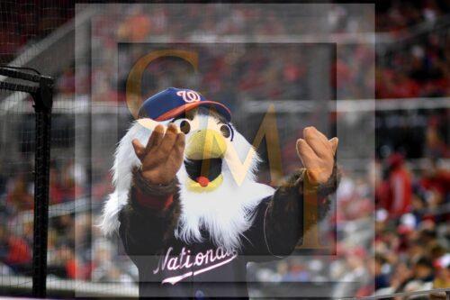 Washington Nationals mascot Screech