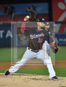 Washington Nationals starting pitcher Anibal Sanchez