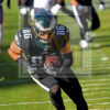 Eagles tight end Zach Ertz receives a 25 yard touchdown pass