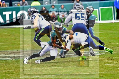 Eagles Malcolm Jenkins sacks Seahawks Russell Wilson