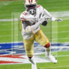 49ers wide receiver Deebo Samuel receives a pass